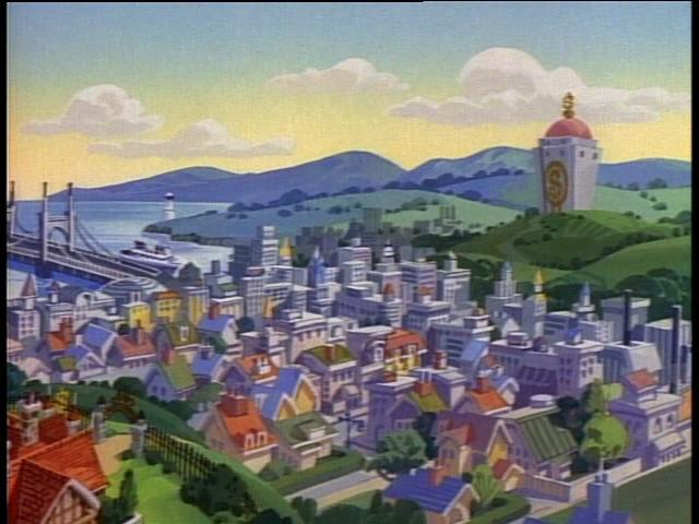 Duckburg (aerial view)