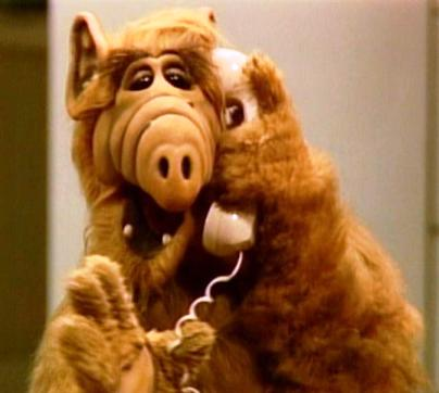 ALF threatens Earth