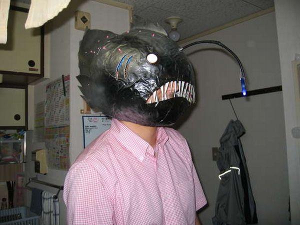 Anglerfish rate every animal for Fish head costume