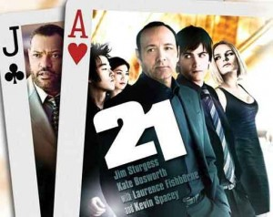 21 is a movie Kevin Spacey is in