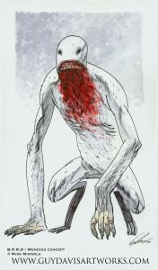wendigo (artist's interpretation)