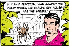 Mark Trail on spiders