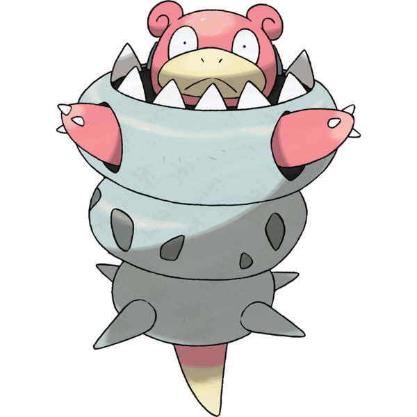 Come on now. This is ridiculous. Even the Slowbro looks upset by this development.